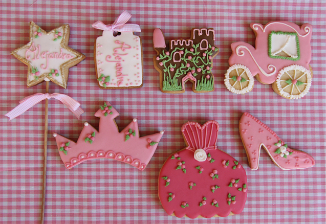 Galletas de princesa