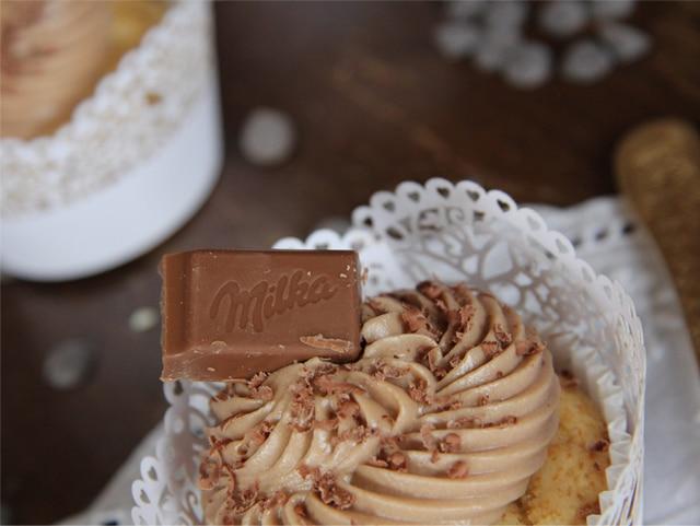 Cupcakes de Milka