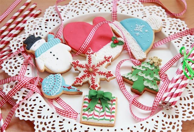 Galletas cláscias de navidad