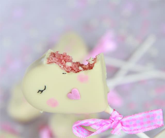 Cake Pops de San Valentín