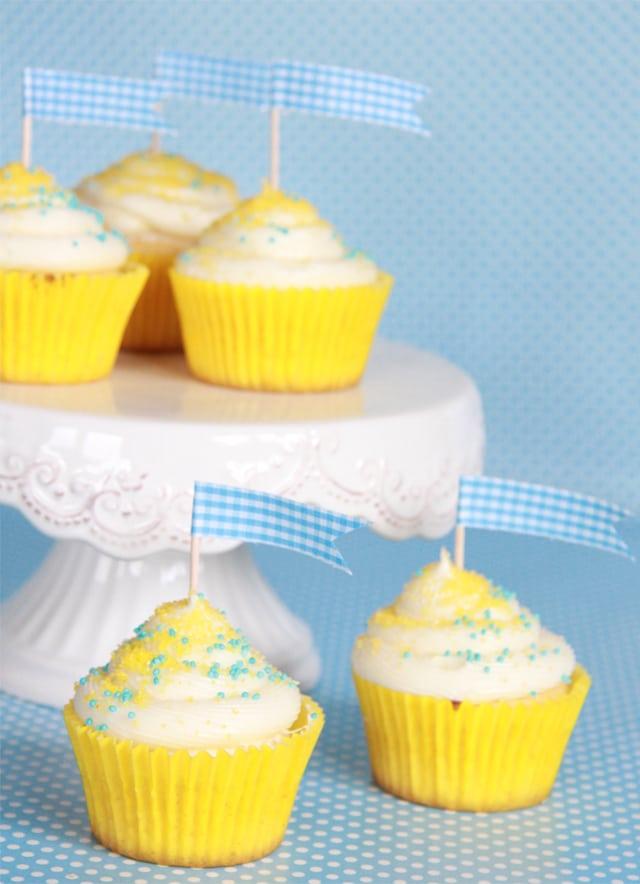 Cupcakes de limón
