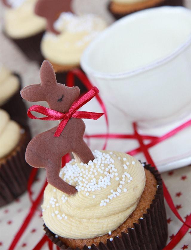 Cupcakes de Toffee