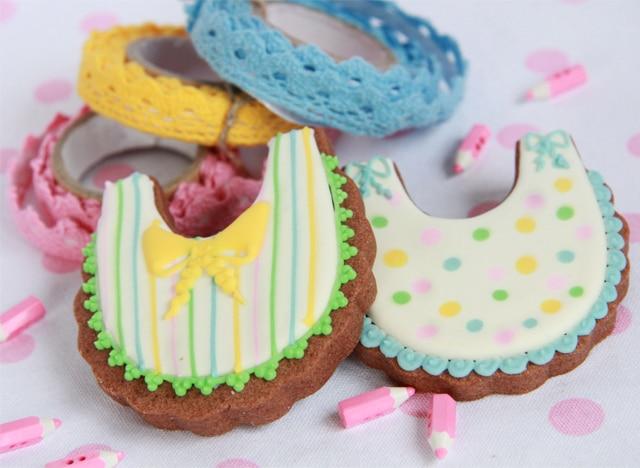 Galletas de bebé multicolor
