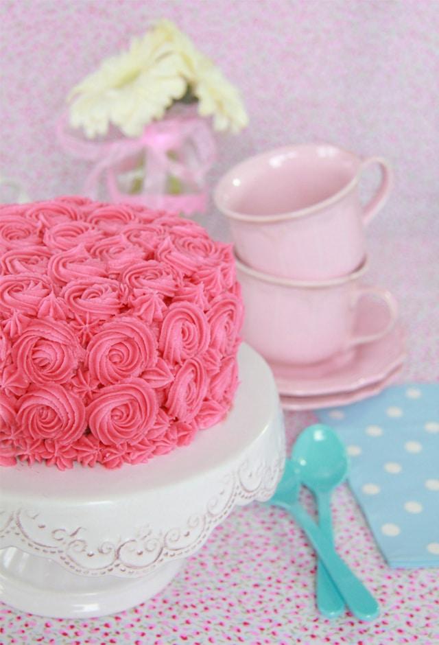 Layer Cake chocolate y fresa