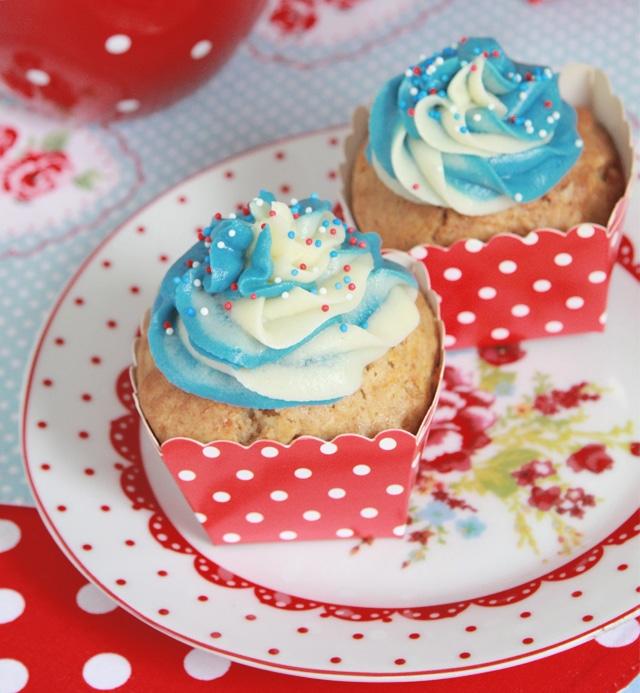 cupcake bicolor