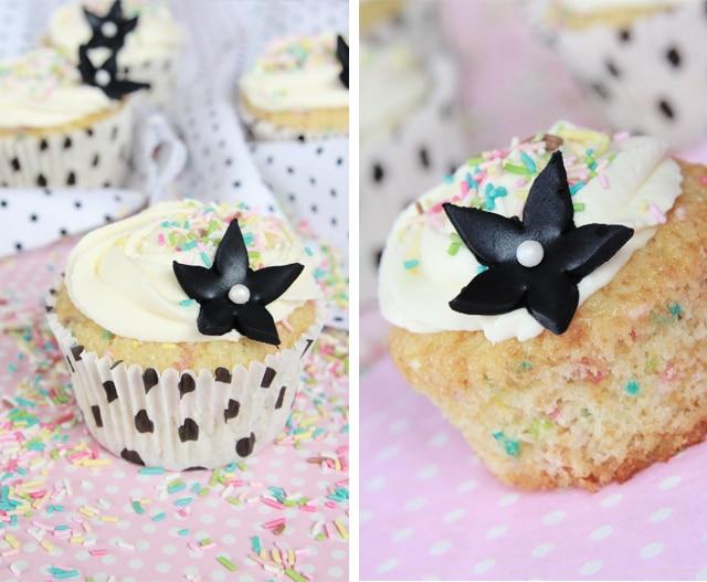 Cupcakes vainilla y mashmallow