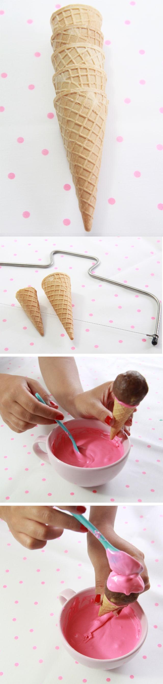 helado cake pops o ice cream cake pops