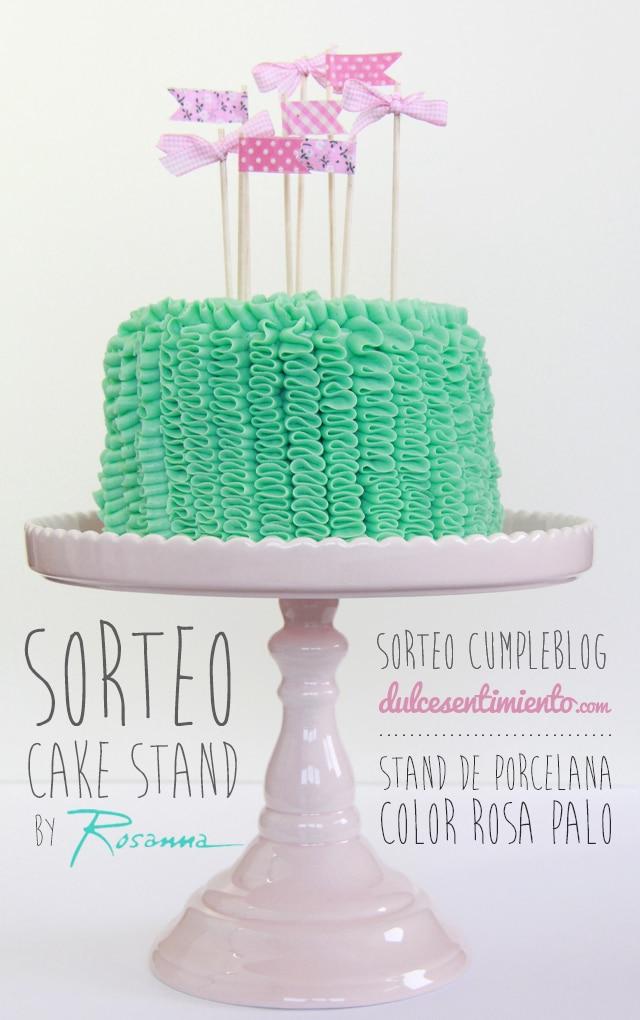 Sorteo cumpleblog Stand Rosanna