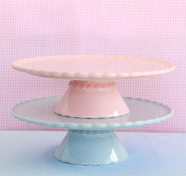 sorteo stands en rosa y azul