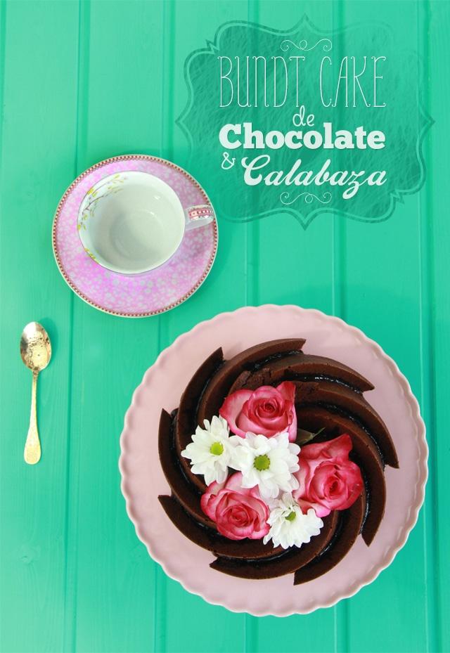 Bundt Cake de chocolate y calabaza
