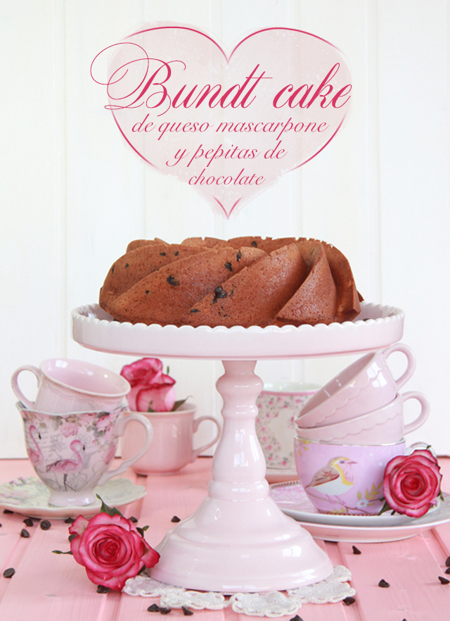 Bundt Cake mascarpone y chocolate