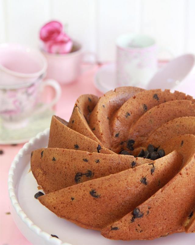Bundt Cake mascarpone y chocolate