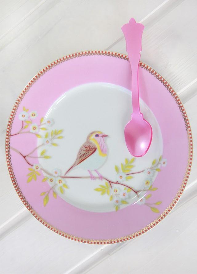 Sorteo Express: Stand, plato, taza y cuchara extra rosa!