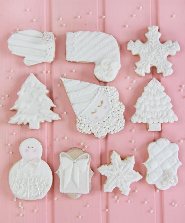 Galletas Blanca Navidad