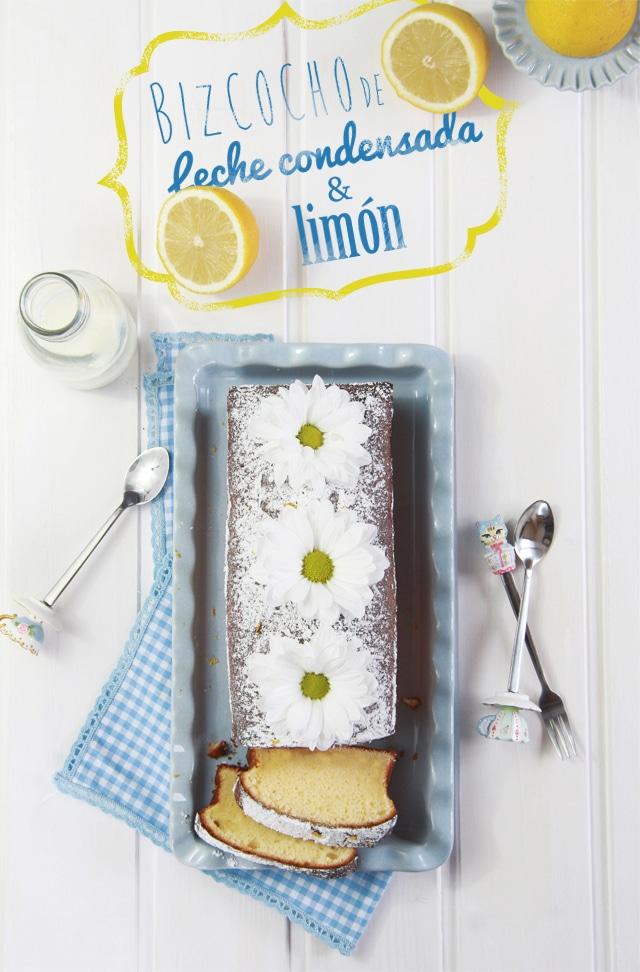 Bizcocho de leche condensada y limón