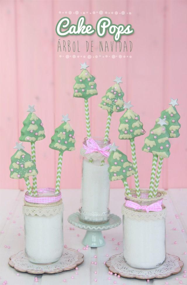 Cake Pops Árbol de Navidad