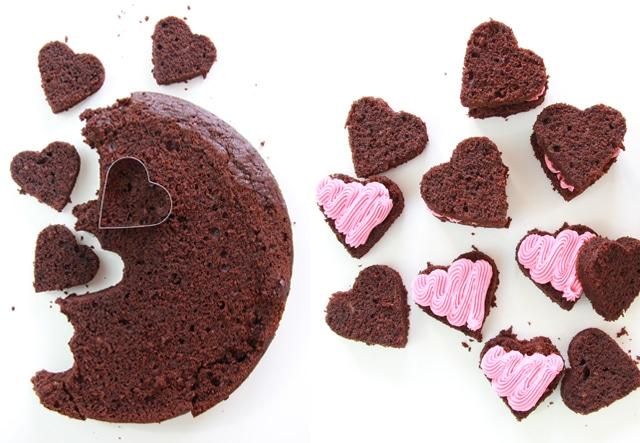 Bizcocho de chocolate y calabacín