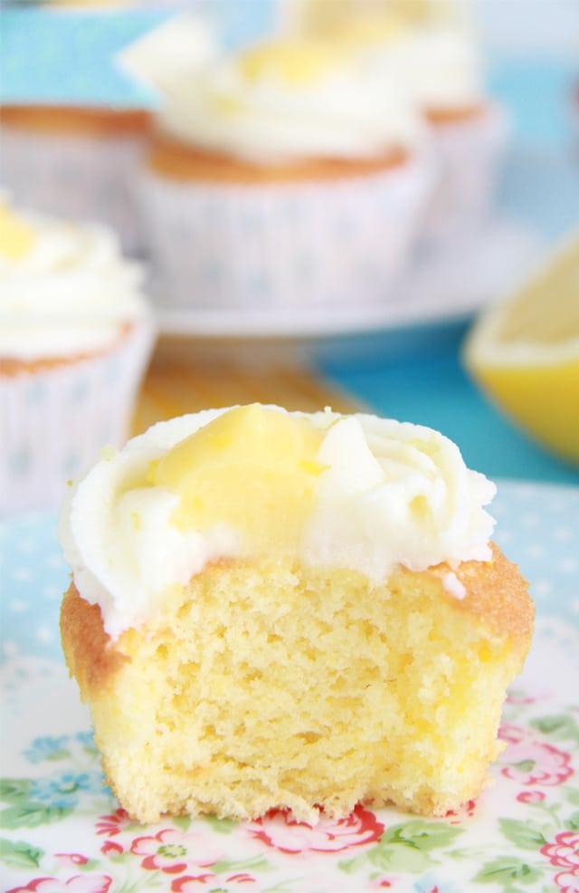 Cupcakes de Limón y Lemon Curd
