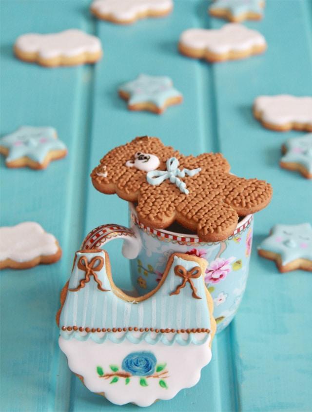 galletas de bebé pintadas