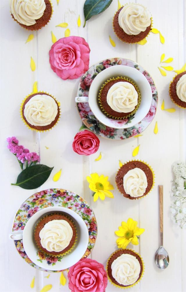 mejor receta de cupcakes de plátano