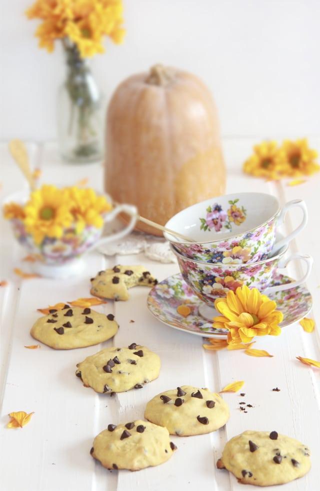 galletas de calabaza receta
