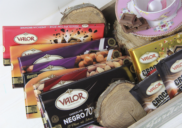 Sorteo chocolates valor