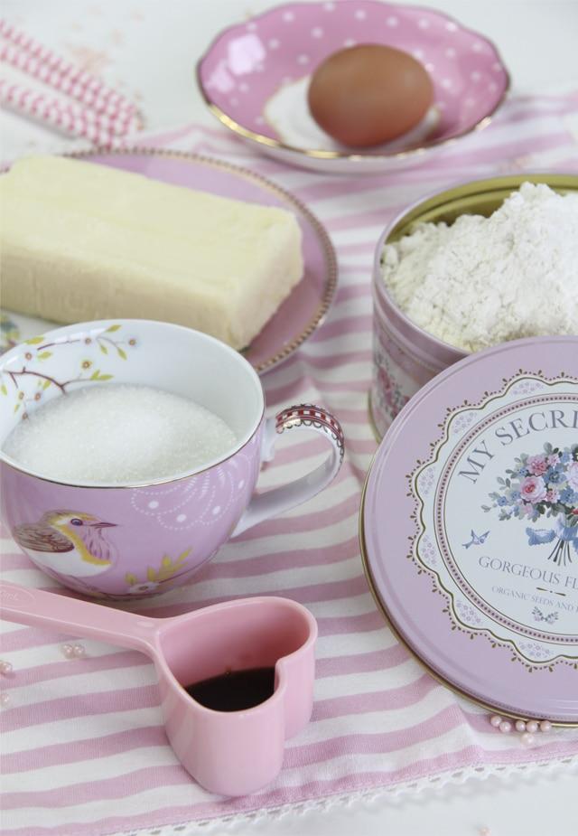 Galletas de mantequilla y vainilla