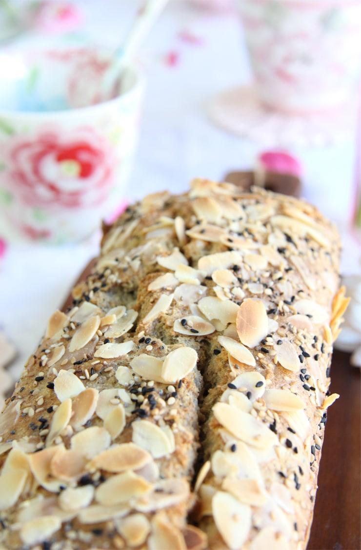 Receta de pan de semillas sin gluten