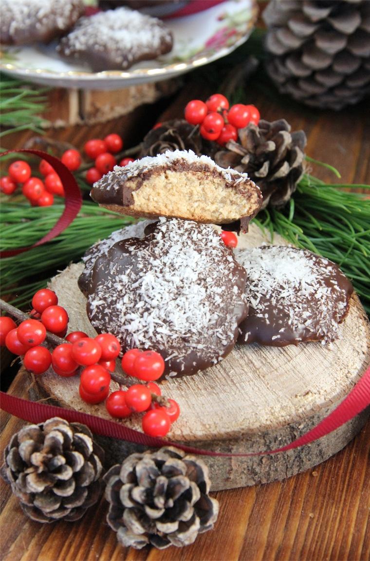 Galletas de avena y coco saludables