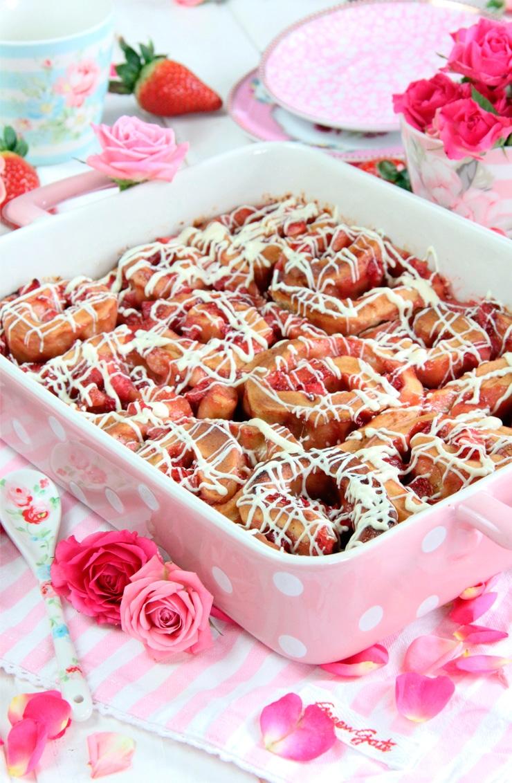 Rollos de fresa