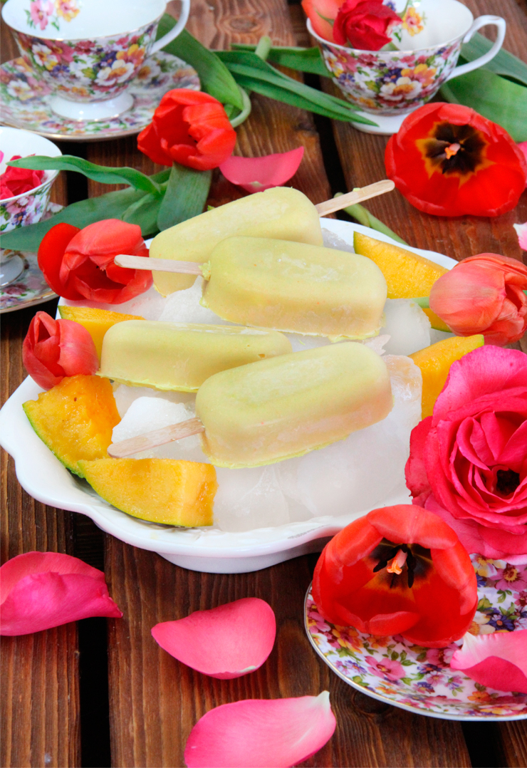 Helado de mango
