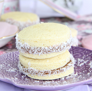Receta de alfajores argentinos