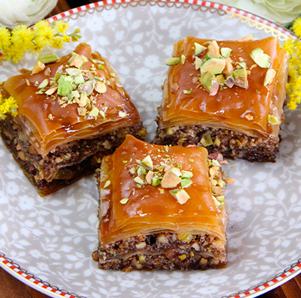 Receta de baklava
