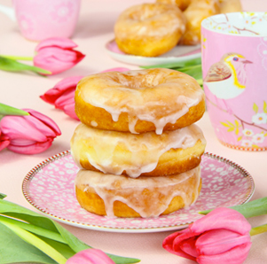 Receta de donuts