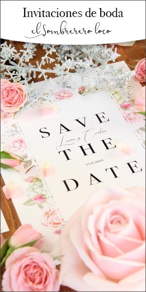 Invitaciones y papelería para bodas - El Sombrerero Loco