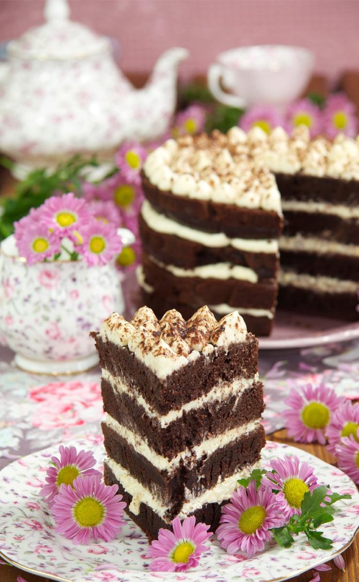 Cómo hacer una tarta de tiramisú
