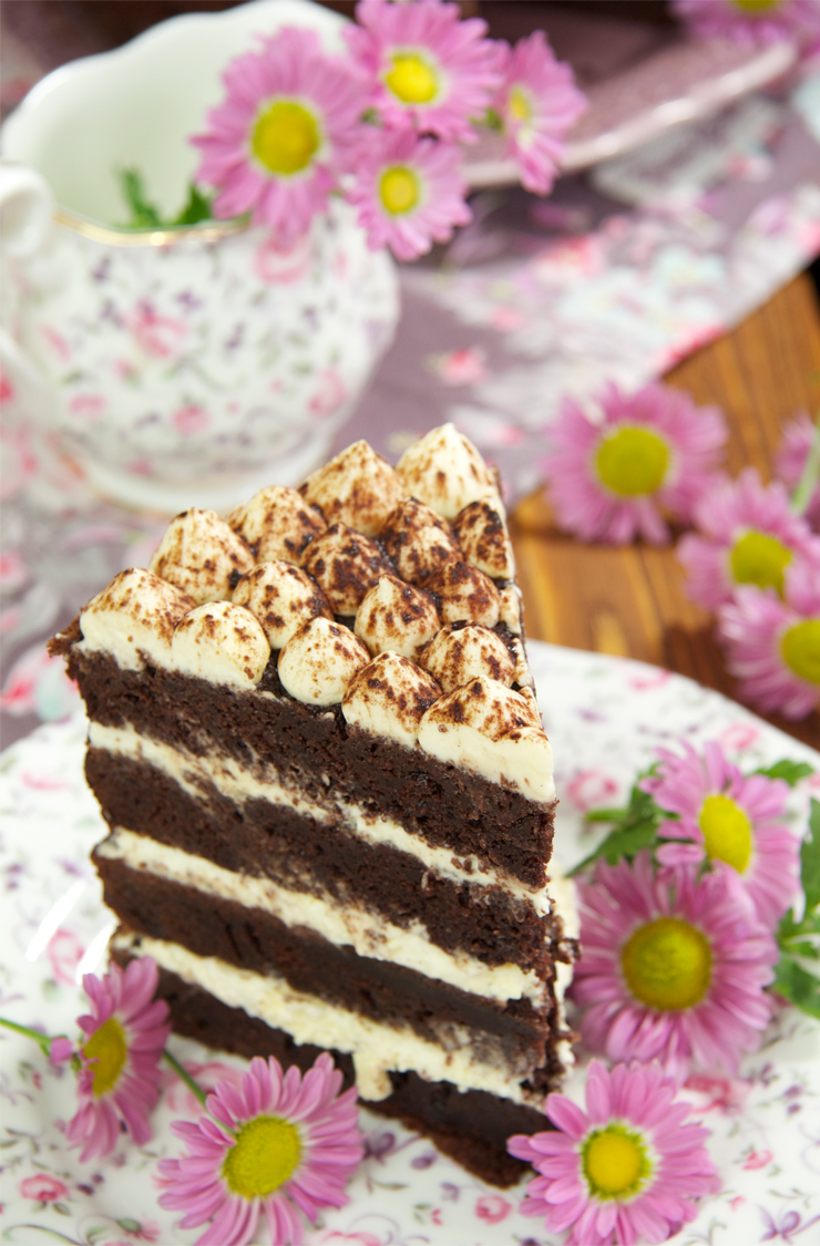 Receta tarta tiramisú