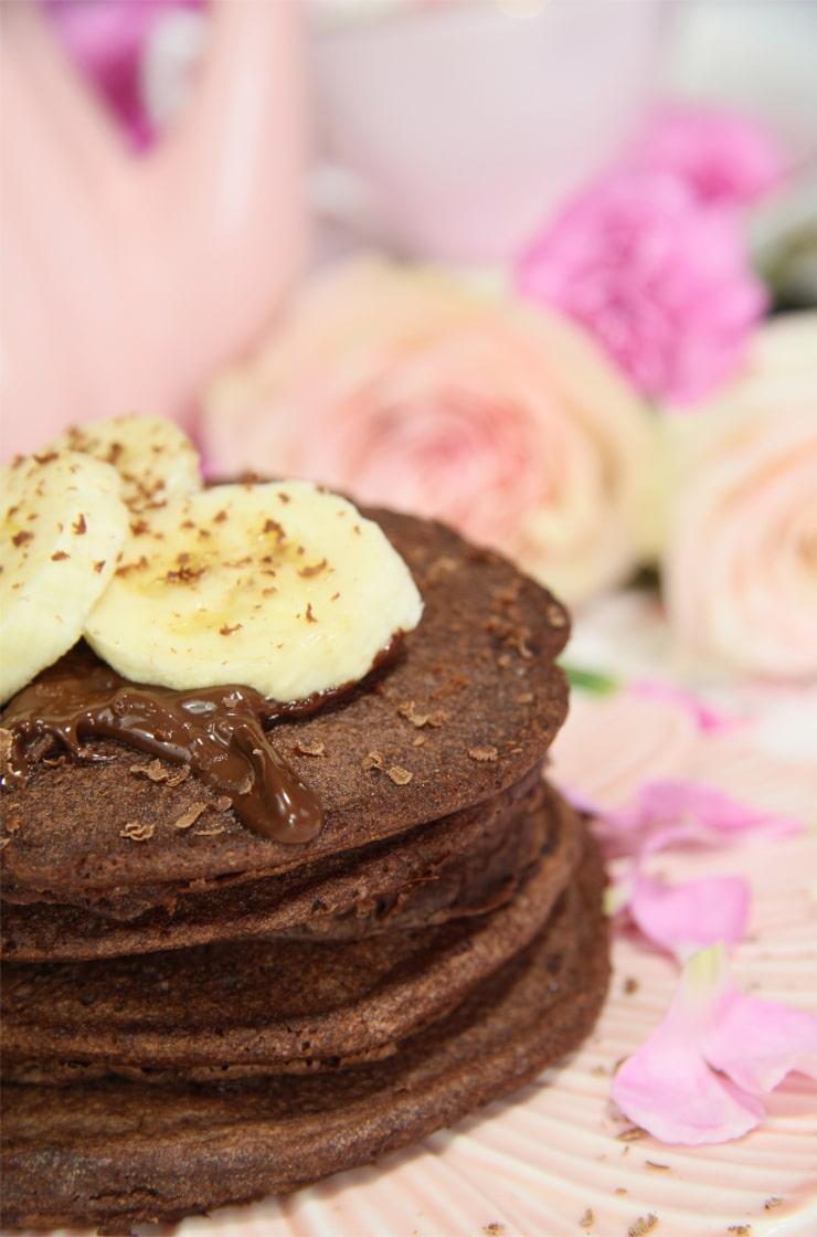 Tortitas de avena y chocolate receta